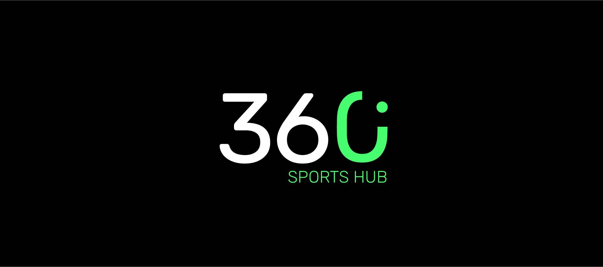 360° Sports Hub black logo