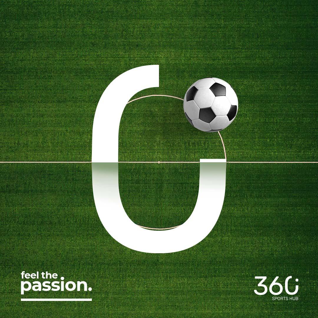 360° Sports Hub Football Ball Ad