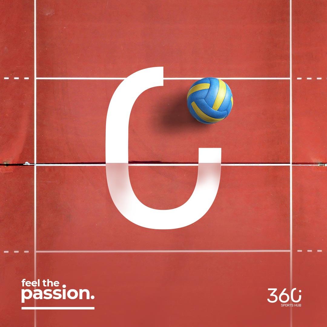 360° Sports Hub Volley Ball Ad