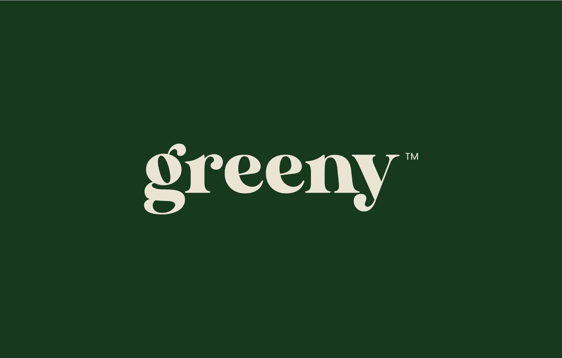 Greeny dark logo